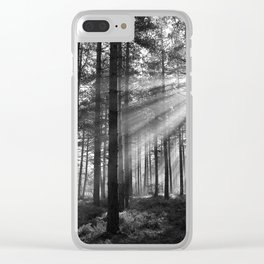 Light Shafts Clear iPhone Case