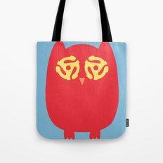 Owl 45s Tote Bag