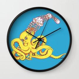 Head Games Wall Clock