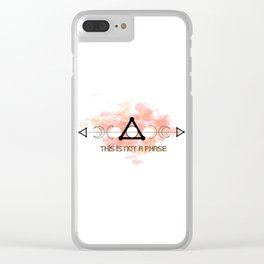 This is Not a Phase Clear iPhone Case