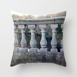 The Bridge To Knowledge Throw Pillow