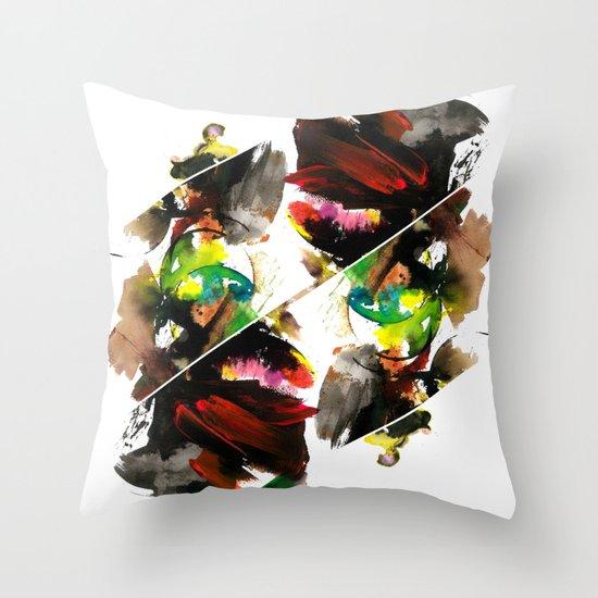 color study 1 Throw Pillow