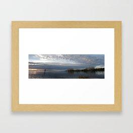 Punta Rassa Panorama  Framed Art Print