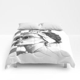 Summer in Paris Comforters