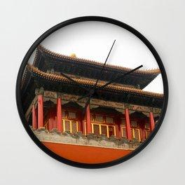 Forbidden City Building Wall Clock