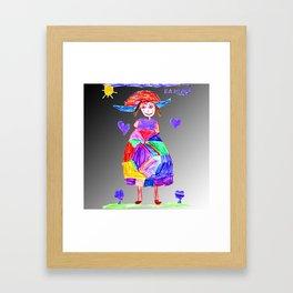 Mrs Evi Framed Art Print