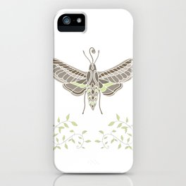 Hummingbird Hawk-Moth iPhone Case