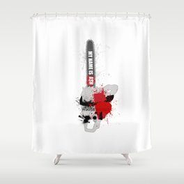 My Name is Ash, Housewares Shower Curtain