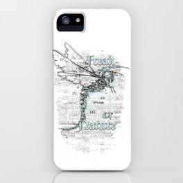 Skeleton Dragonfly - Freak of Nature iPhone Case
