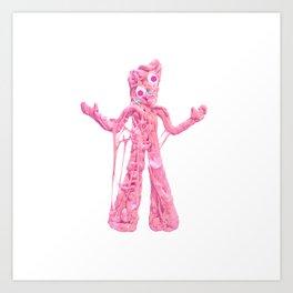 Bubble Gumby Art Print