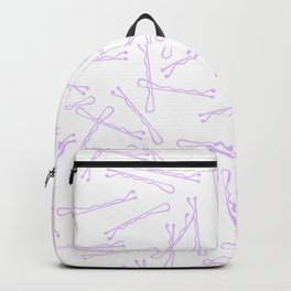 BOBBY PINS ((lilac)) Backpack