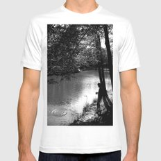 Wish upon a stone Mens Fitted Tee White MEDIUM
