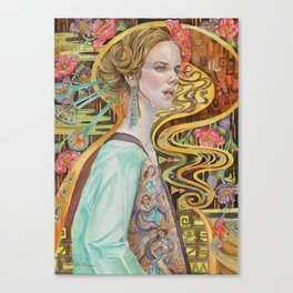 Flower in a Bitter World I Canvas Print