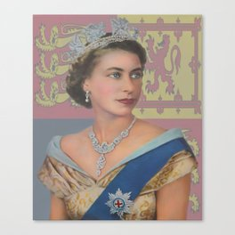 """The  Queen"" Canvas Print"