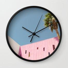 HOTEL PALM Wall Clock