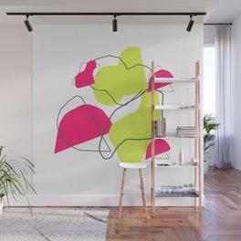 Deconstructed Blobs Art Print Wall Mural