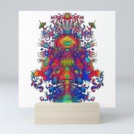 Dancing Shrooms Mini Art Print