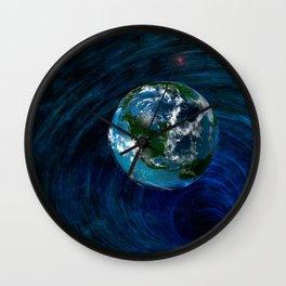 Earth Is In Trouble Wall Clock