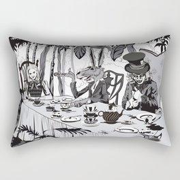 Alice Tea Party Rectangular Pillow