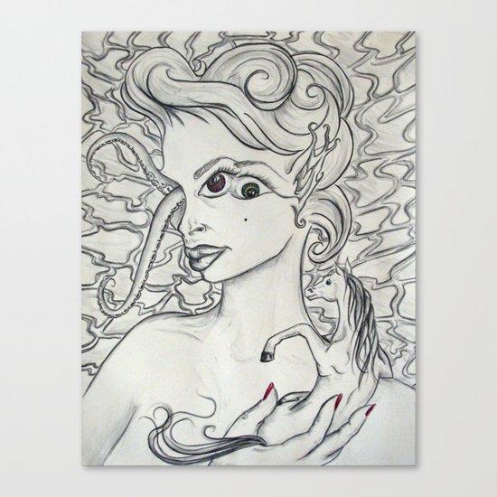 a safer place Canvas Print