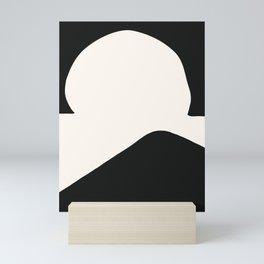 Hill In A Hole Mini Art Print