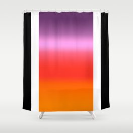 Sunset Gradient Shower Curtain