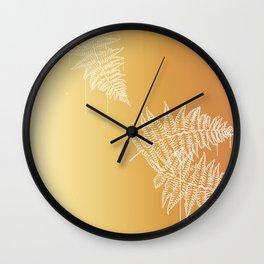 long funky flamingo Wall Clock