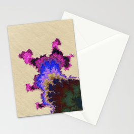 Restful. Mk2. Abstract Art by Tito Stationery Cards