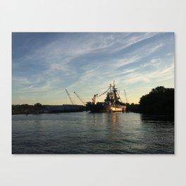 Wilmington, North Carolina - USS North Carolina Canvas Print
