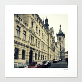 New Town Hall on Charles Square, Prague Czech Republic Canvas Print