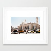 palestine Framed Art Prints featuring Ramallah, Palestine by ear2ear