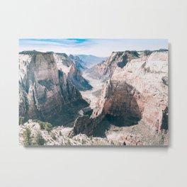 American Canyon Travel Photo Metal Print