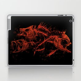 red fishes Laptop & iPad Skin
