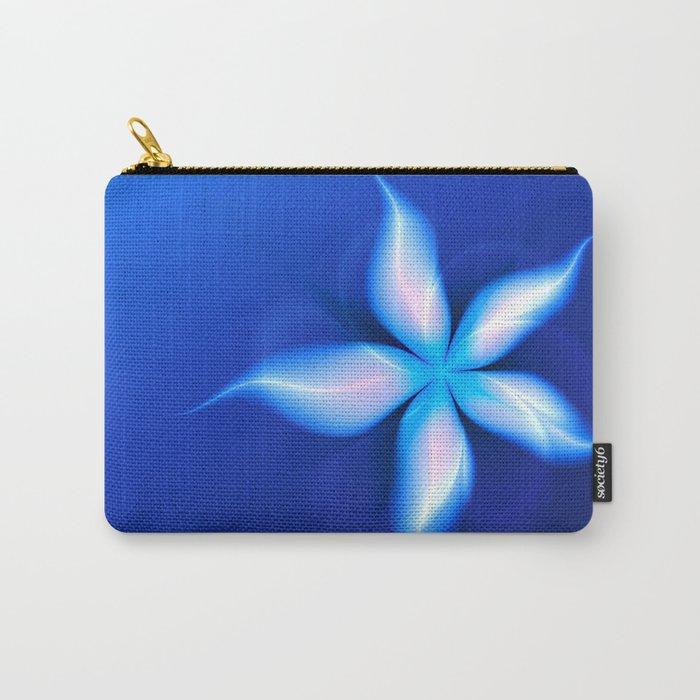 La Fleur Magique de la Sorcière Fractal Carry-All Pouch