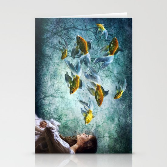 Ocean Deep Dreaming Stationery Cards