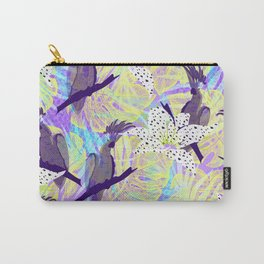 Tropical birds in the jungle Carry-All Pouch