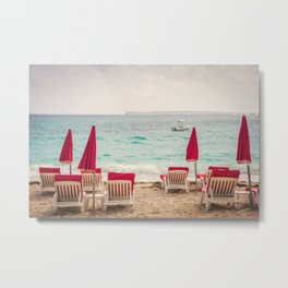 Caribbean Vacation Metal Print