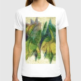 Abstract fall colors T-shirt