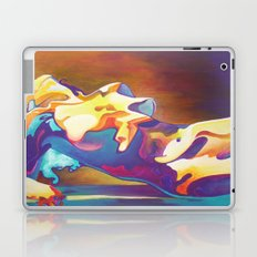 The United Colours of Orgasm Thermal Nude  Laptop & iPad Skin