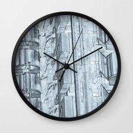 Lloyd's Building Art Wall Clock