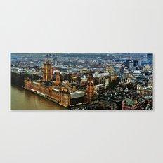 Big Ben - Elizabeth Tower Canvas Print