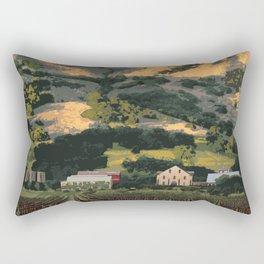 Regusci Winery - Napa Valley Rectangular Pillow