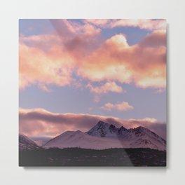 Rose Serenity Sunrise Metal Print