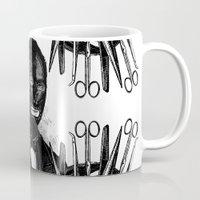 bdsm Mugs featuring BDSM XXXIV by DIVIDUS DESIGN STUDIO