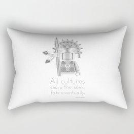 Inca - All Cultures Share the Same Fate Eventually Rectangular Pillow