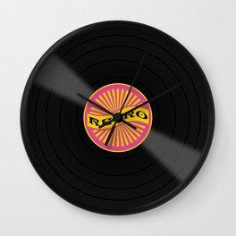 Retro 80's objects - Vinyl Wall Clock