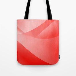 Red Wallpaper Tote Bag