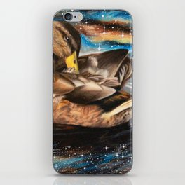 Space Duck iPhone Skin