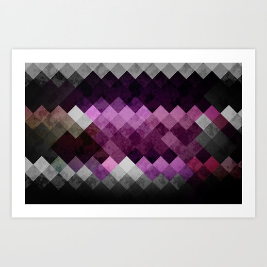 Abstract Cubes GWP Art Print