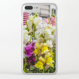 Summer Solstice Mix Snapdragons 4 Clear iPhone Case